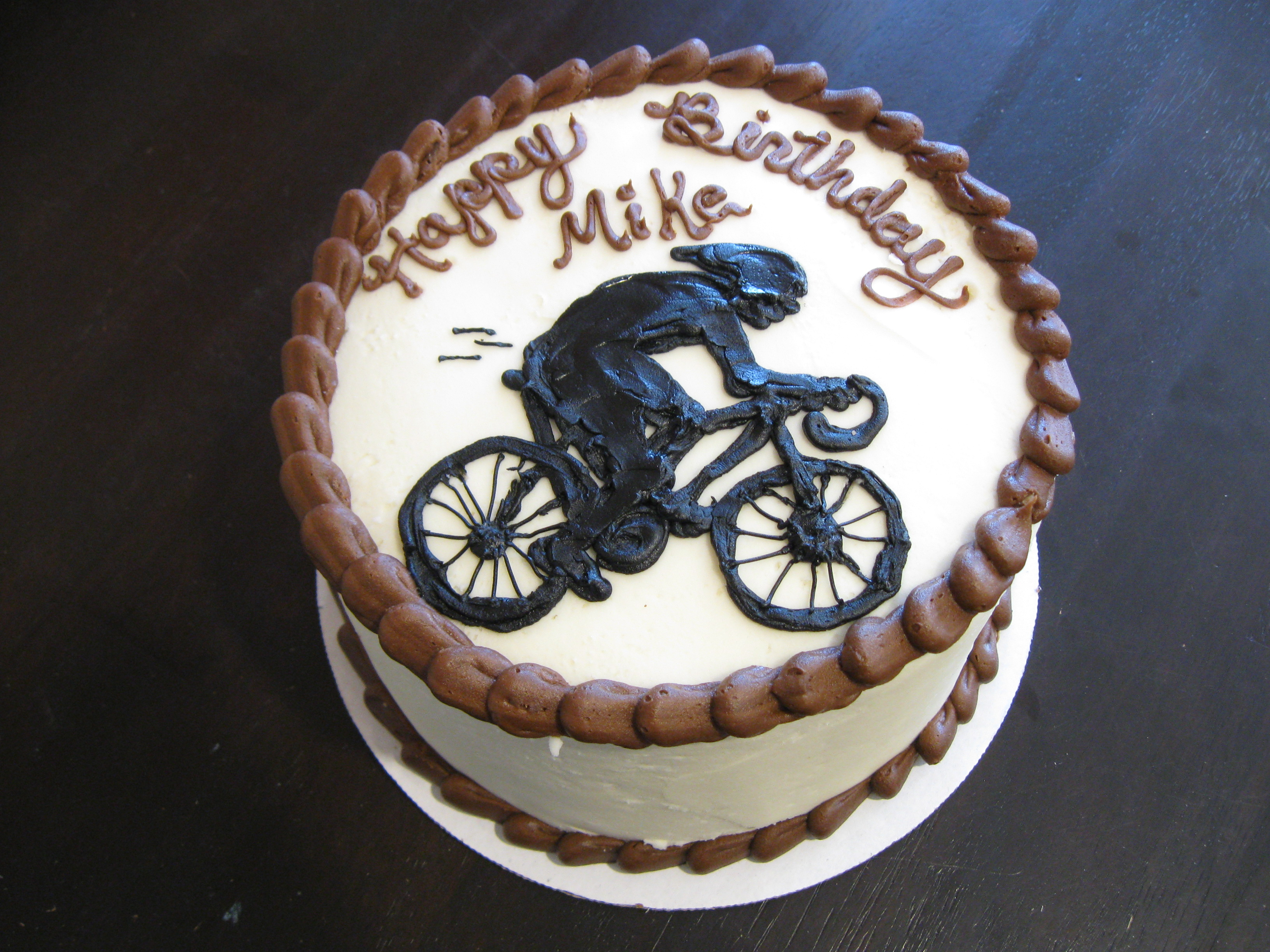 Birthday Cake for Cyclist
